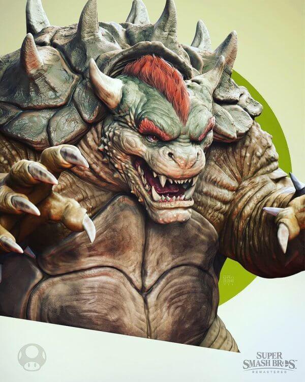 God Of War art director reveals awesome Super Smash Bros. fanarts
