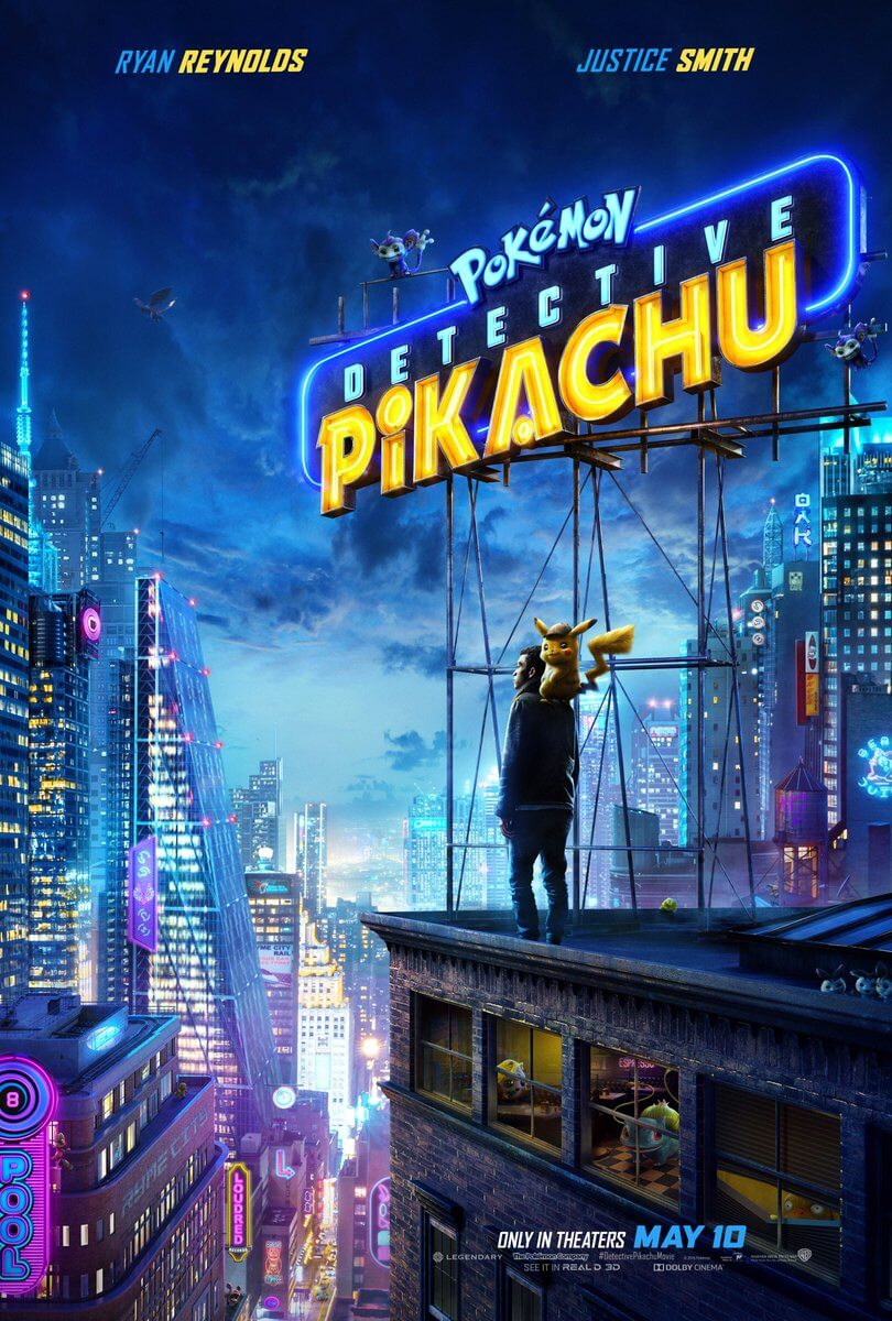 Here is Detective Pikachu's new trailer