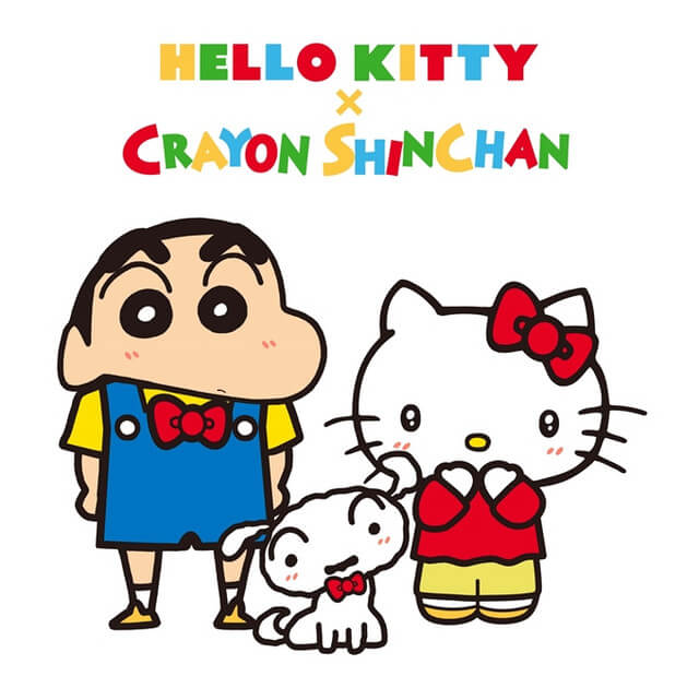 Hello Kitty teams up with Crayon Shin-chan as part of her 45th anniversary celebrations