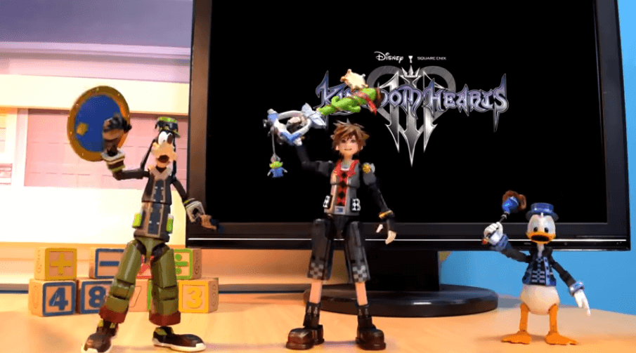 Bring Arts figures bring Kingdom Hearts III's Toy Story World to life in stop-motion video