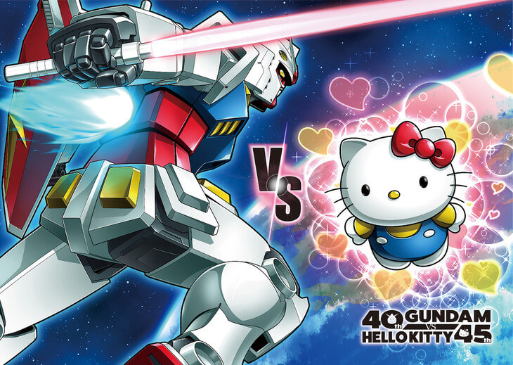 The RX-78-2 Gundam finally takes on Hello Kitty in official video