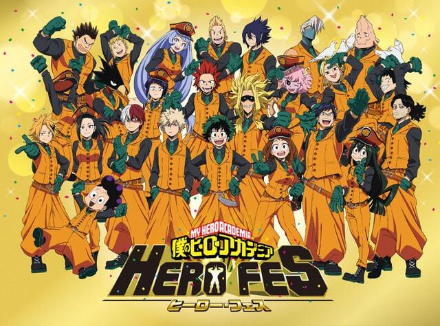 My Hero Academia event, HERO FES. announced!