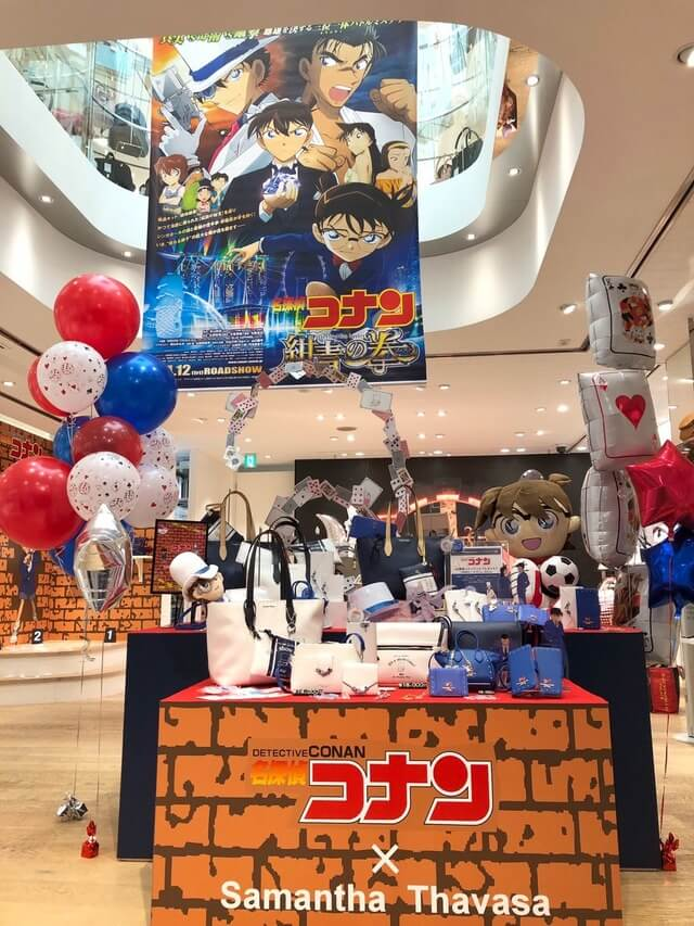 Detective Conan collaboration bags get re-released in Japan