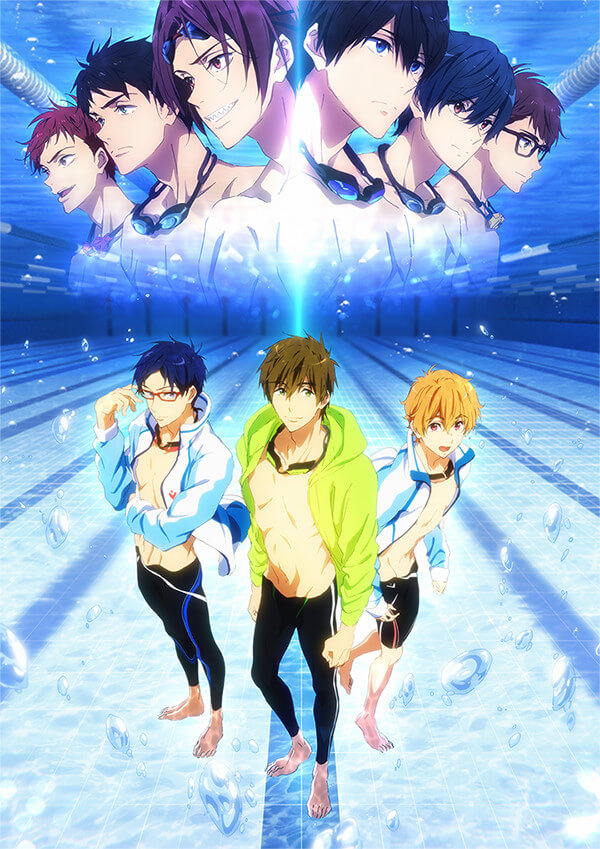 Free! Road to the World Yume Anime Film releases new trailer