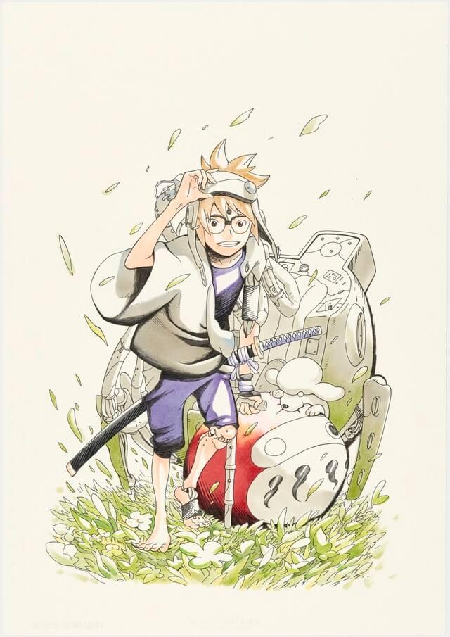 Jump to preview Masashi Kishimoto's new manga, Samurai 8, before its debut