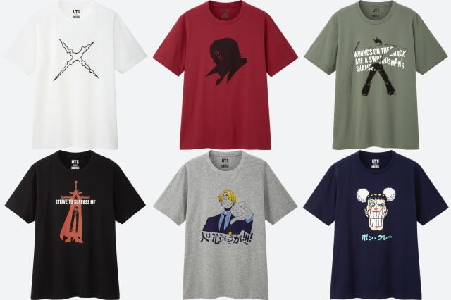 One Piece x Uniqlo t-shirts are coming!