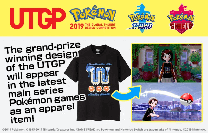 Uniqlo's Pokemon T-shirt design contest winner disqualified