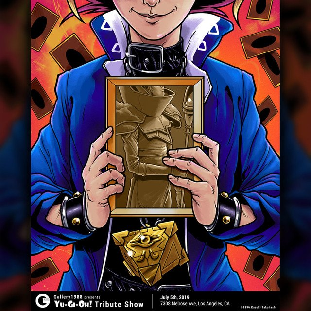 Yu-Gi-Oh! mangaka Kazuki Takahashi releases new artwork in a Los Angeles gallery