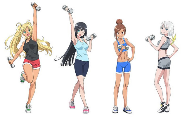 How Heavy Are the Dumbbells You Lift? gym anime's seiyuu try working out in new video