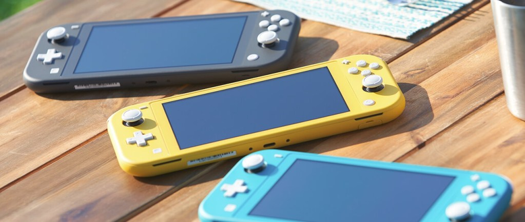 Nintendo announces the Switch Lite, Out 20.9.19!