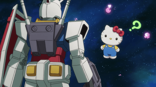 Gundam and Hello Kitty Episode 2 Preview