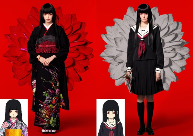 Live-action Hell Girl film reveals new character visuals