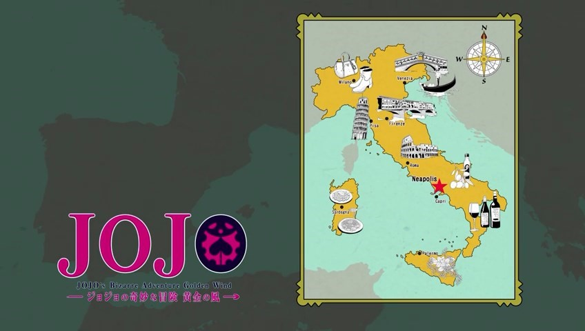 So, there's now an official Jojo's Bizarre Adventure pilgrimage to Italy…