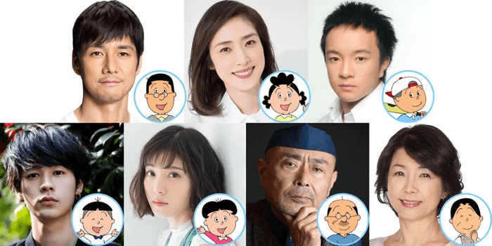 Sazae-san TV Special reveals live-action cast