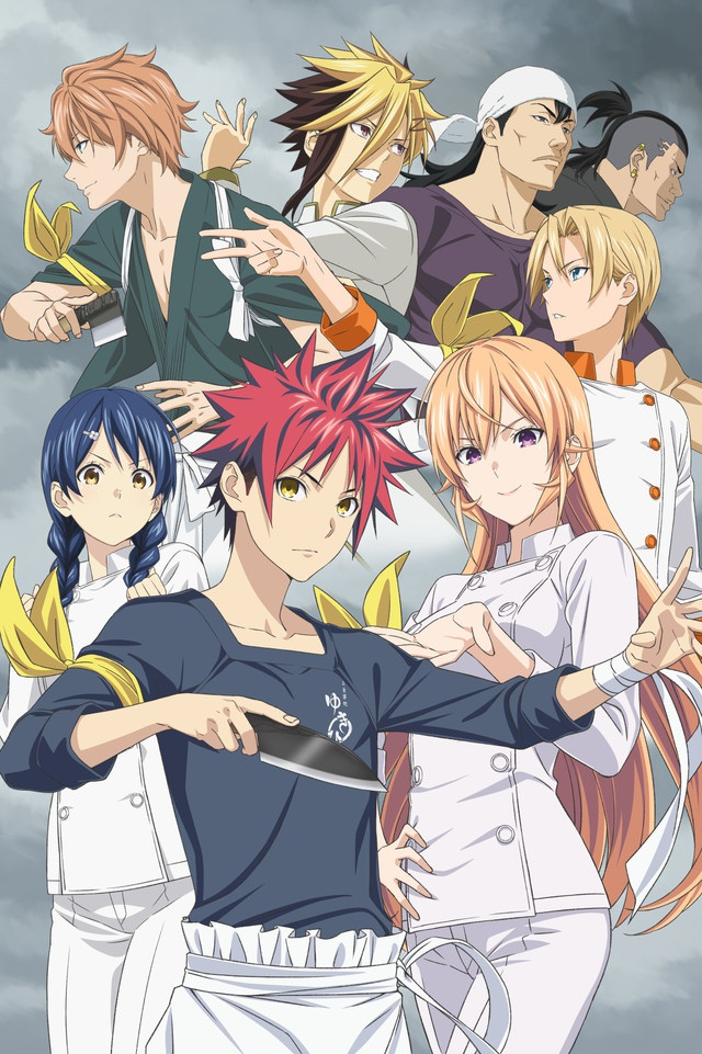 Food Wars! Shokugeki no Soma: The Fourth Plate reveals visual and premiere date