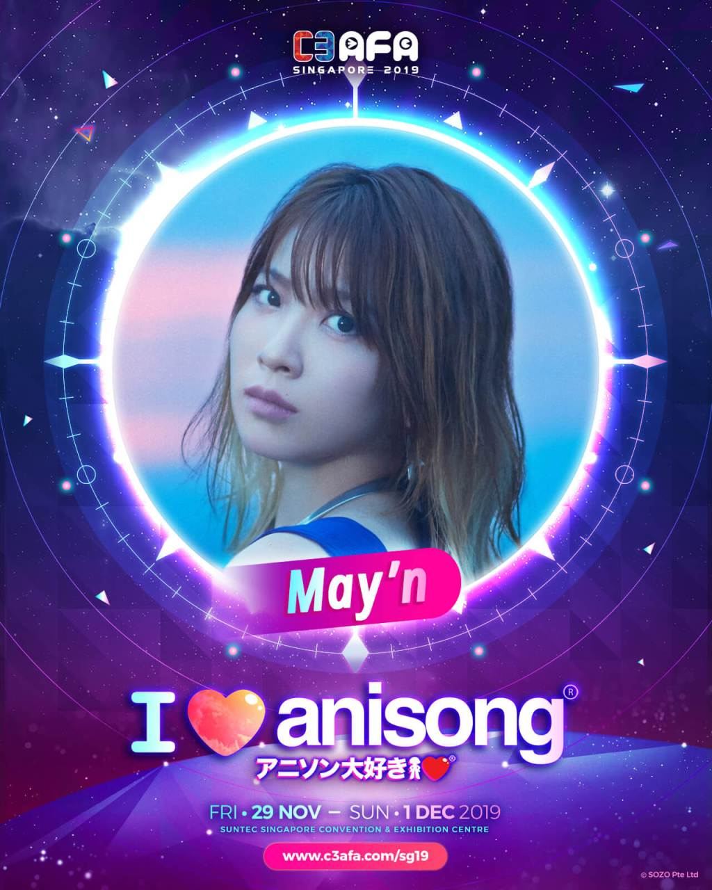 C3AFA Singapore Guest Profile: May'n