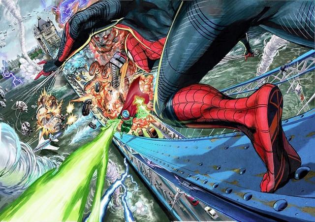 One Punch Man mangaka Yusuke Murata returns to Marvel for new Spider-Man cover art