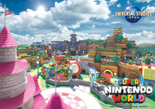 Universal  Studios Japan previews how their Super Nintendo World might look like