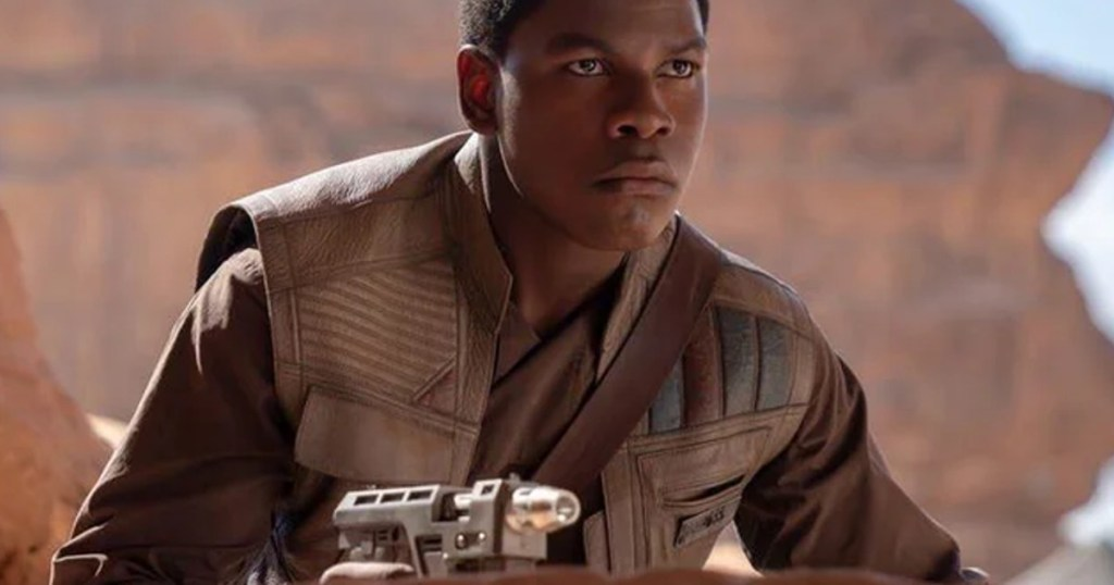Star Wars star John Boyega shows off his love for anime during Hot Ones interview