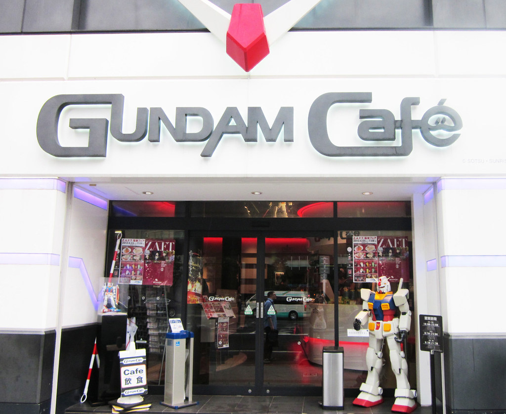 Gundam Cafe Akihabara to expand to 4 times its current size