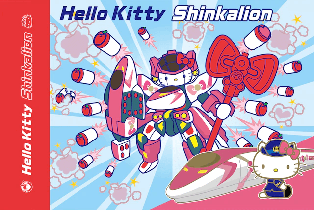 Hello Kitty not just turning into a Gundam, but a Zaku and a Shinkalion as well!