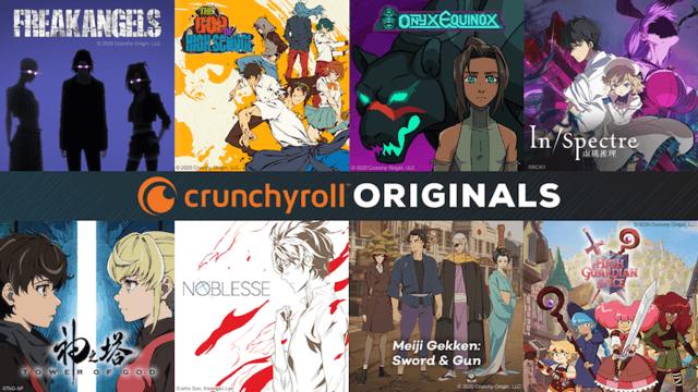Crunchyroll announces original anime content with Crunchyroll Originals
