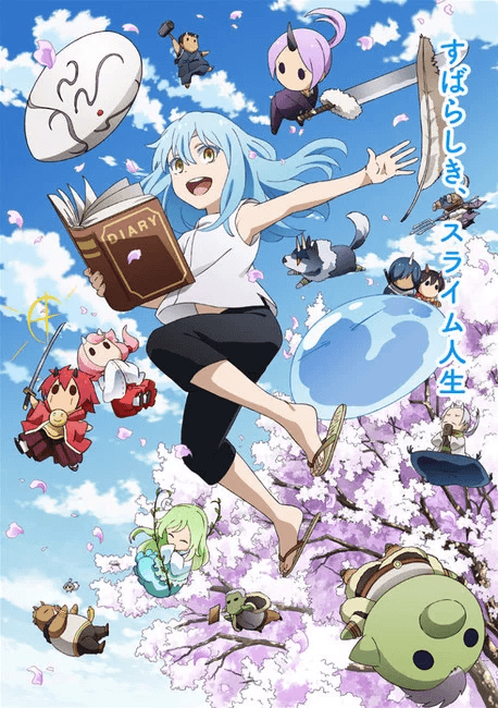 That Time I Got Reincarnated as a Slime second season reveals new PV and spin-off anime