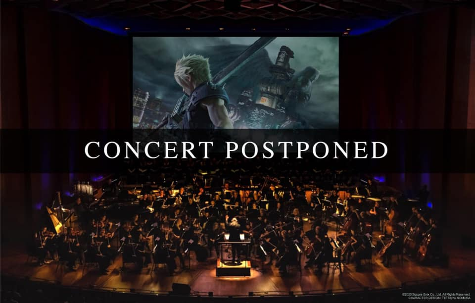 FINAL FANTASY VII REMAKE Orchestra World Tour in Singapore Postponed Due to COVID-19