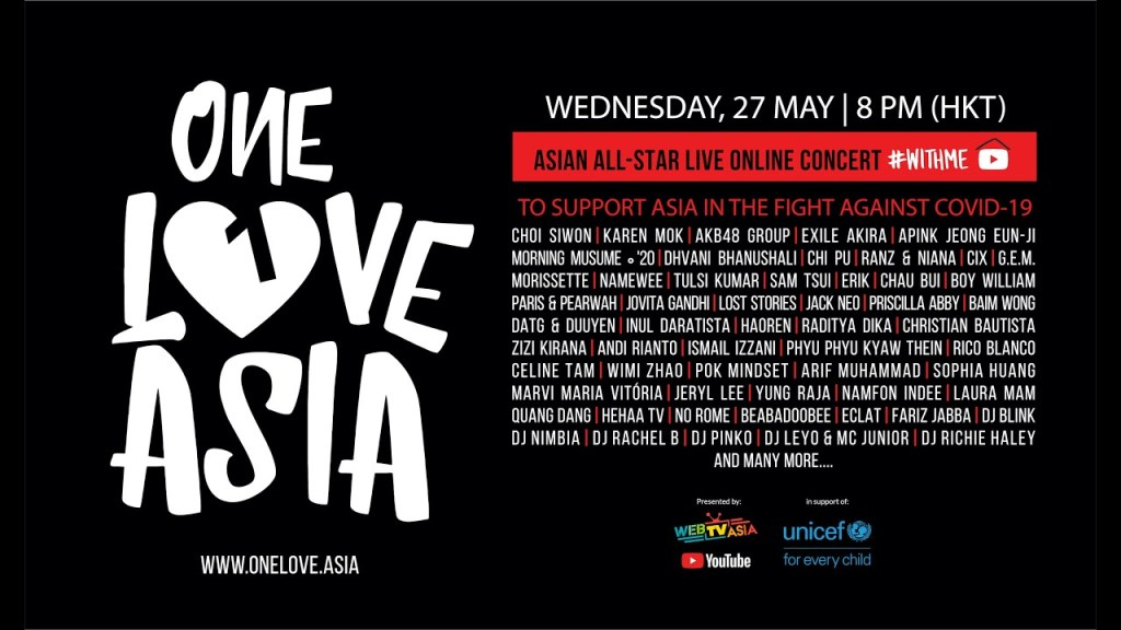 "Catch ""One Love Asia"" Tonight feat. AKB48, EXILE Akira, and Other Asian Artistes"