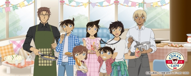 """Detective Conan Cafe 2020"" Pop-up Reopens for Takeaway Orders, Merchandise Sale"