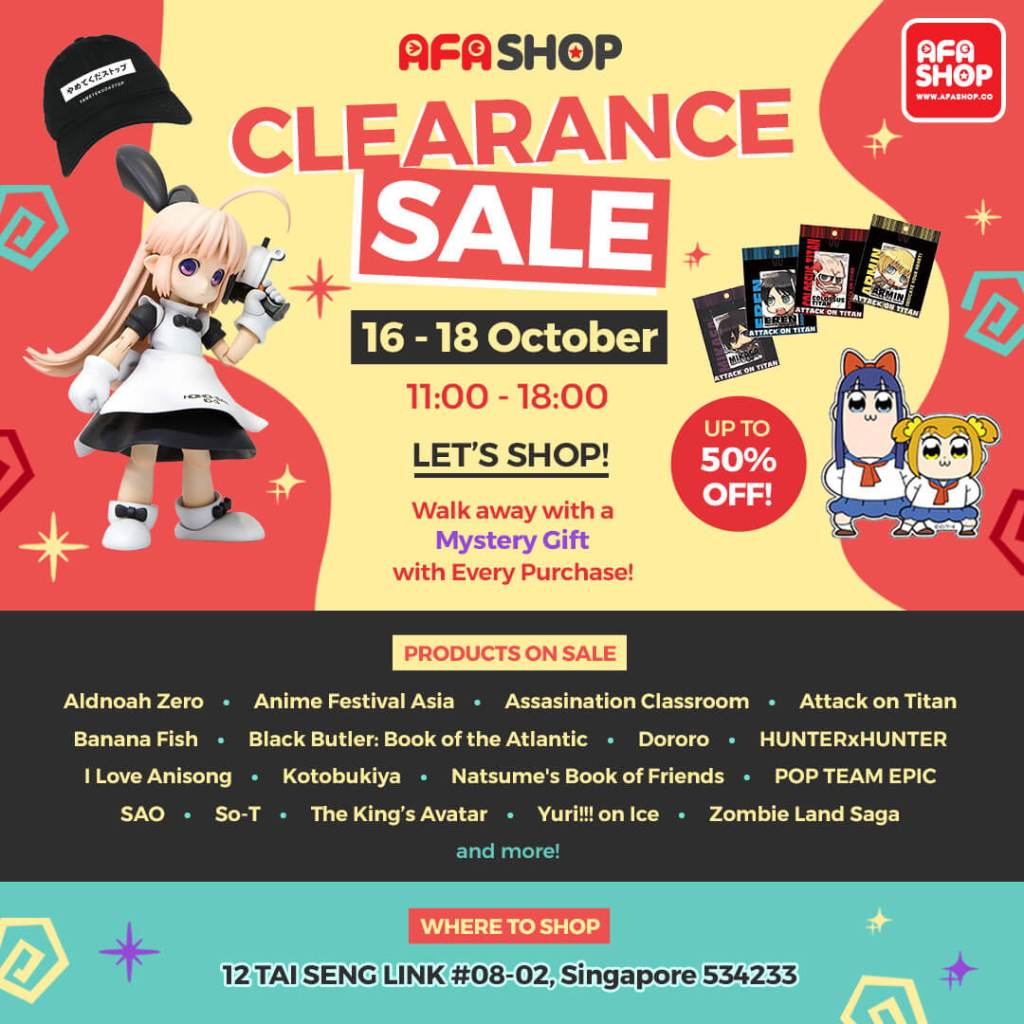 Enjoy Huge Savings Only at AFASHOP.co's Clearance Sale!