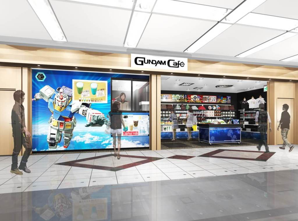 """GUNDAM Café HANEDA Airport Satellite"" Opens 20th November"