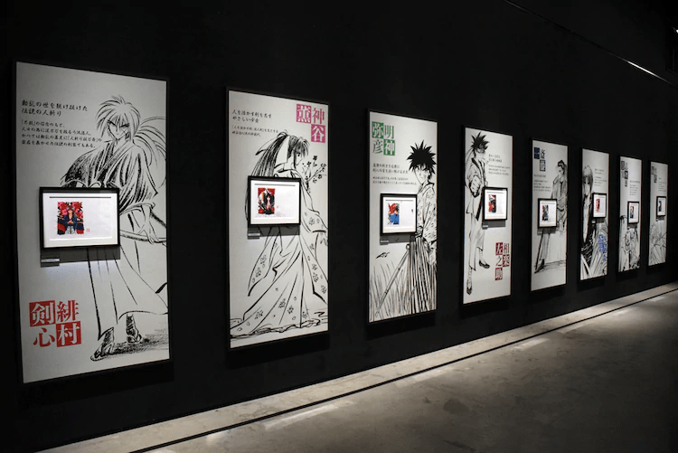 "Tokyo Dome City Gallery Hosts ""25th Anniversary Rurouni Kenshin Exhibition"""