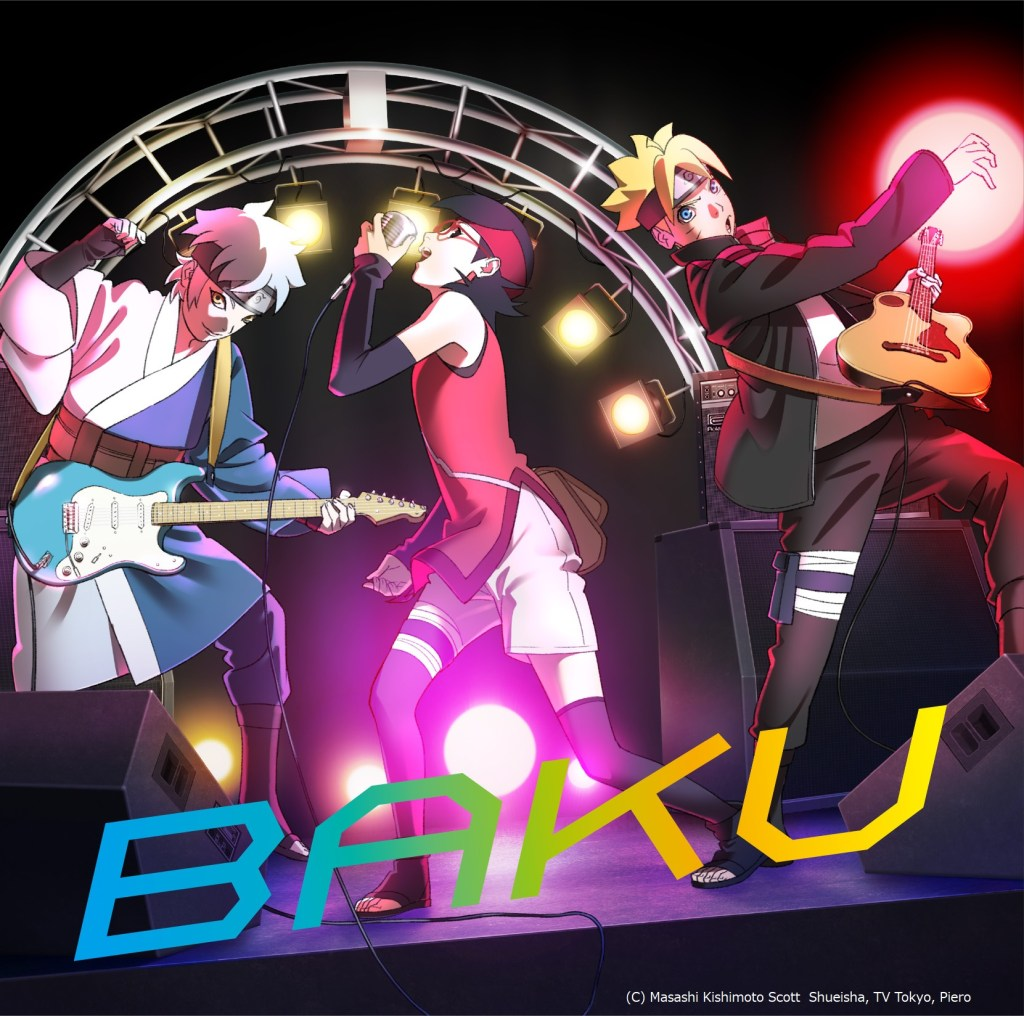 "Ikimonogakari Drops 33rd Single ""BAKU"", OP of ""BORUTO: NARUTO NEXT GENERATIONS""!"