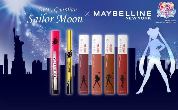 """""""Maybelline New York"""" Unveils New """"Sailor Moon"""" Collaboration"""