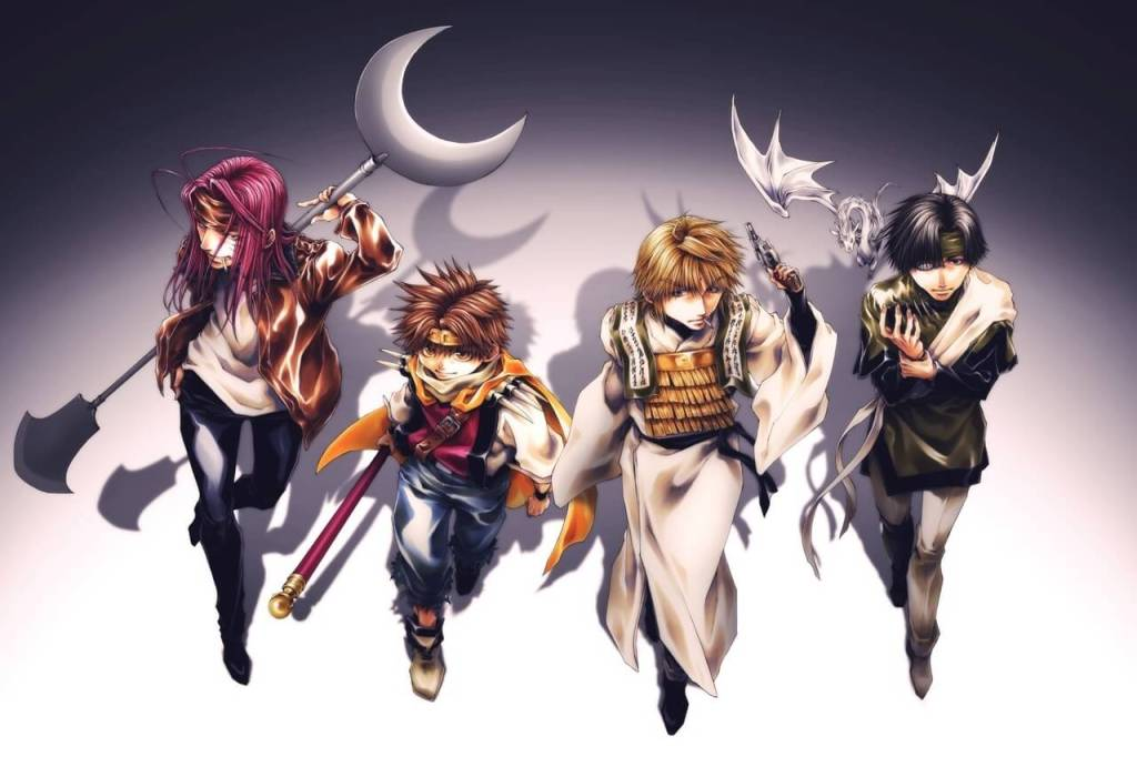 """Saiyuki RELOAD -ZEROIN-"" Official Website Launched!"
