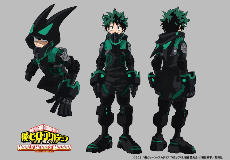 """Check Out the New Stealth Suits from the Upcoming """"HeroAca"""" Films!"""