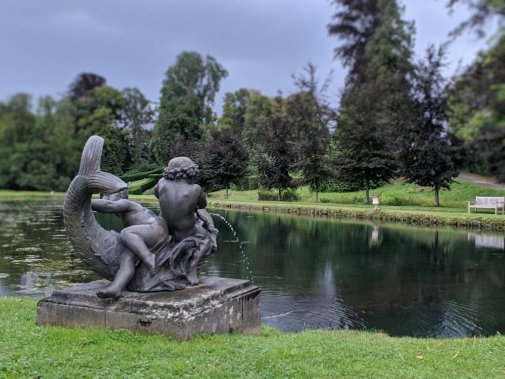 Statues dans les Jardins d'Annevoie