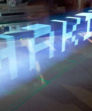 incredible timelapse iPad lightpainting