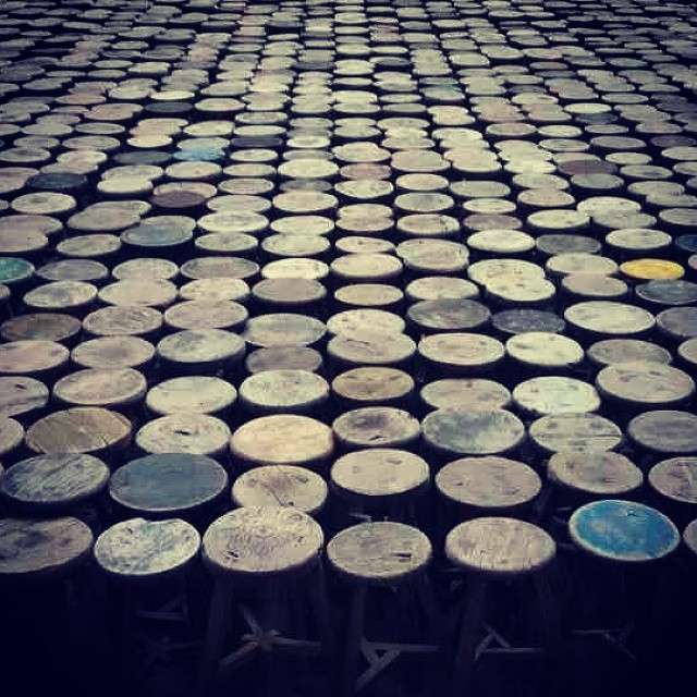#AiWeiWei  #stools #Berlin #GER - from Instagram