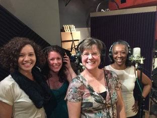 "The ladies of the ""be a studio singer"" perk had SOOOO much fun"
