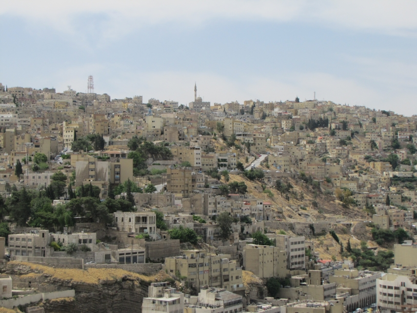 Jordan A to Z:  A is for ... Amman! (5/6)