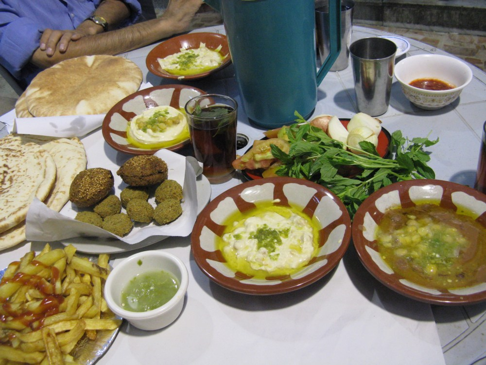 Ramadan Breakfast at Hashem's in Amman, Jordan (3/3)