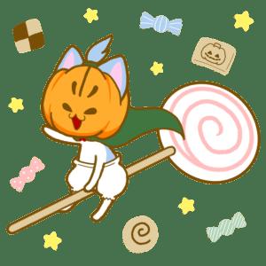 パンプキンマンとお菓子