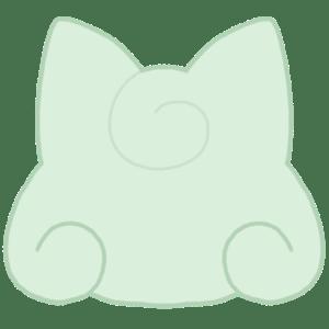 カラーシルエット[メロン]