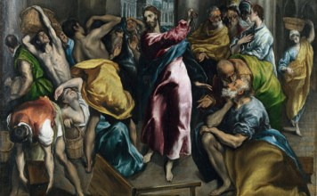 Эль Греко Изгнание торгующих из храма