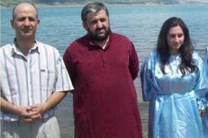 В Грузии православный священник крестился