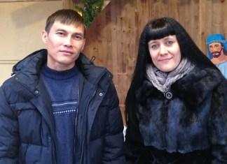 Светлана Малова и Вячеслав Ким