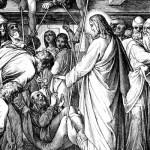Исцеление парализованного в Капернауме