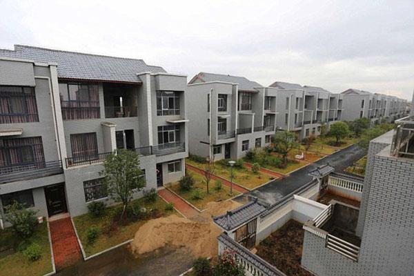 Китайский миллионер построил каждому жителю деревни по вилле